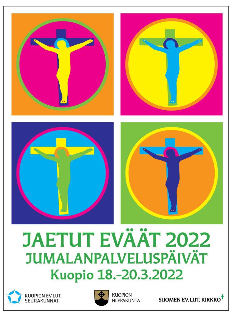 Jaetut eväät -jumalanpalveluspäivien logo
